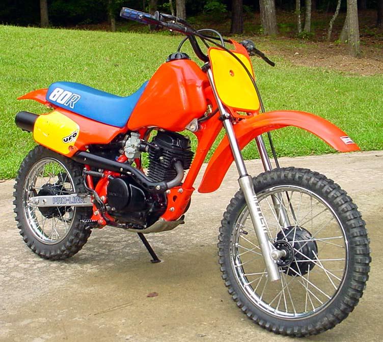 1986 Honda XR80R