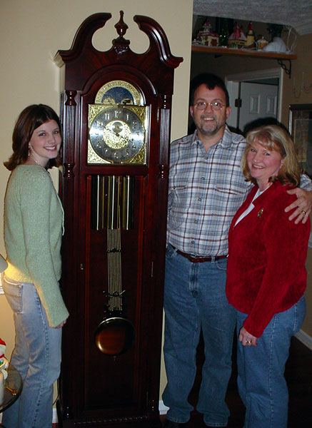 Champ S Clock Shop Holiday Giveaway Winners 2003